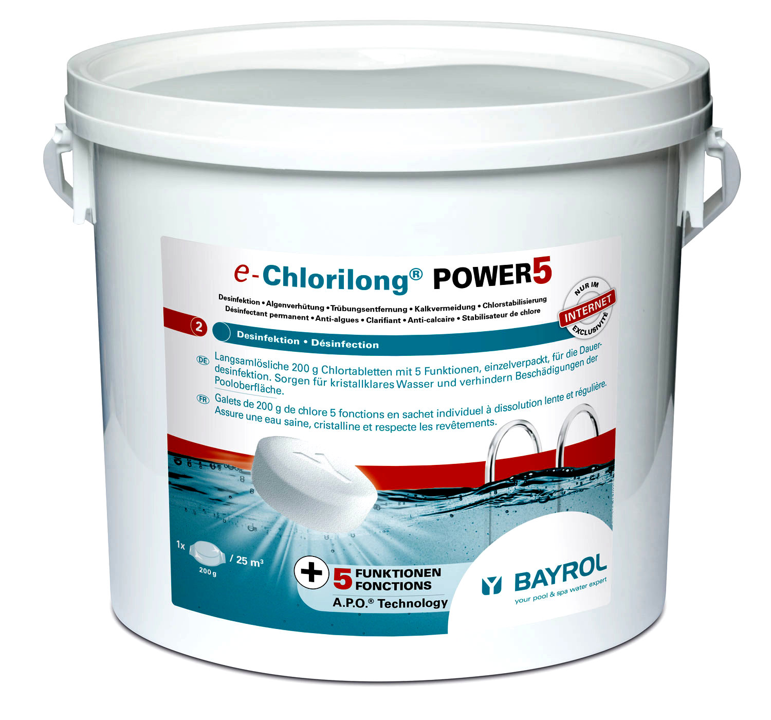 BAYROL e-Chlorilong® POWER 5
