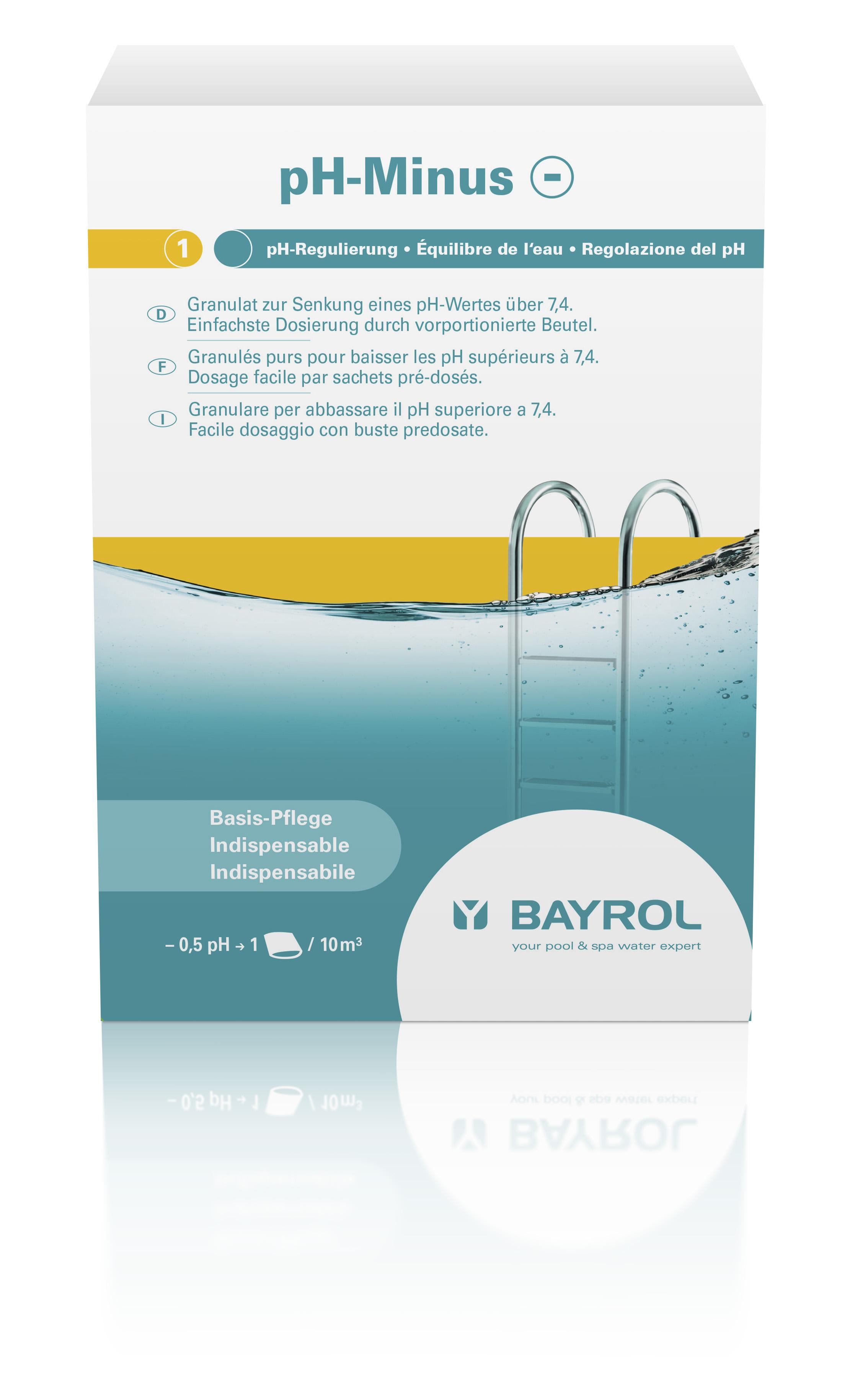 BAYROL pH Minus 2 kg im Dosierbeutel