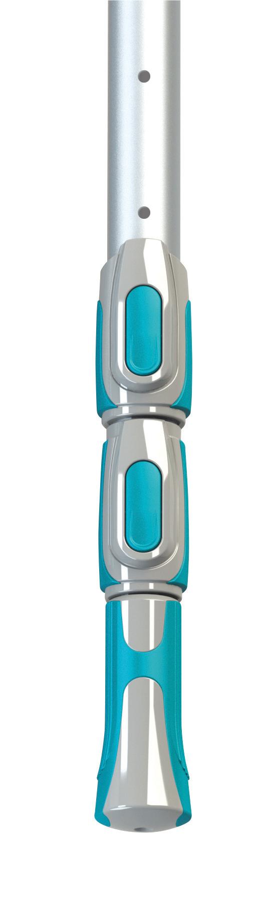 BAYROL Komfort Aluminium Teleskopstange