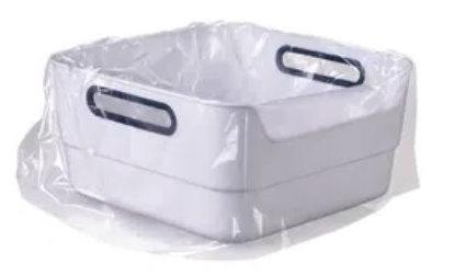 Hygiene-Beutel für 1 x Anwendung passend für Fußbecken 87155