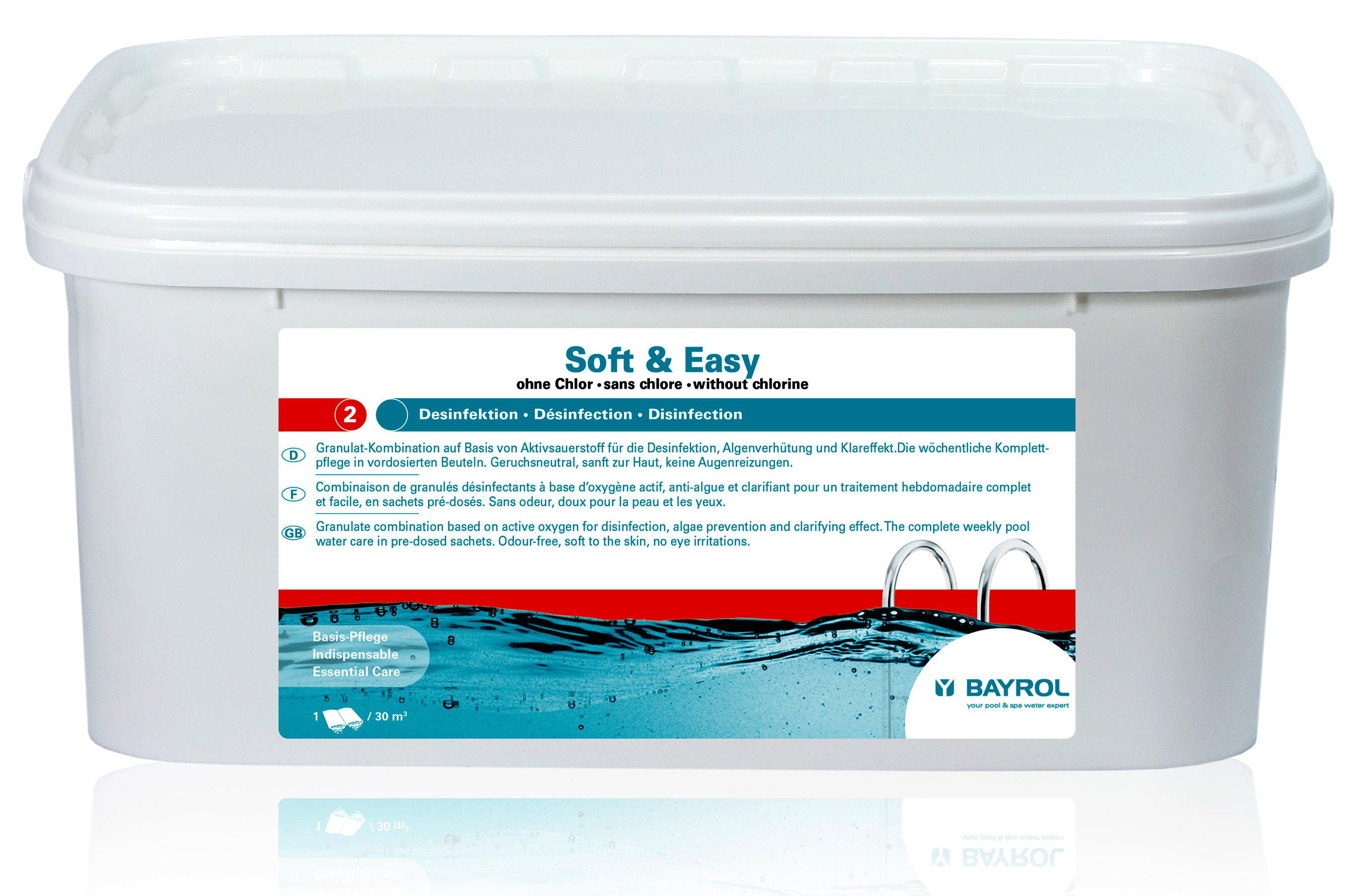 BAYROL Soft & Easy 2,24 kg - 20 m³