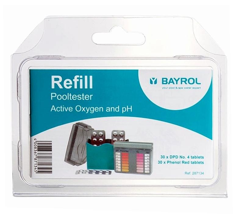 BAYROL Refill für Pooltester pH / O2