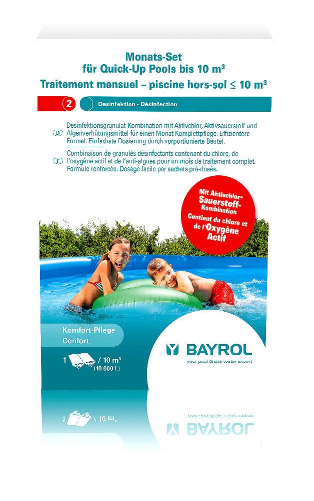 BAYROL Monats - Set für kleine Pools