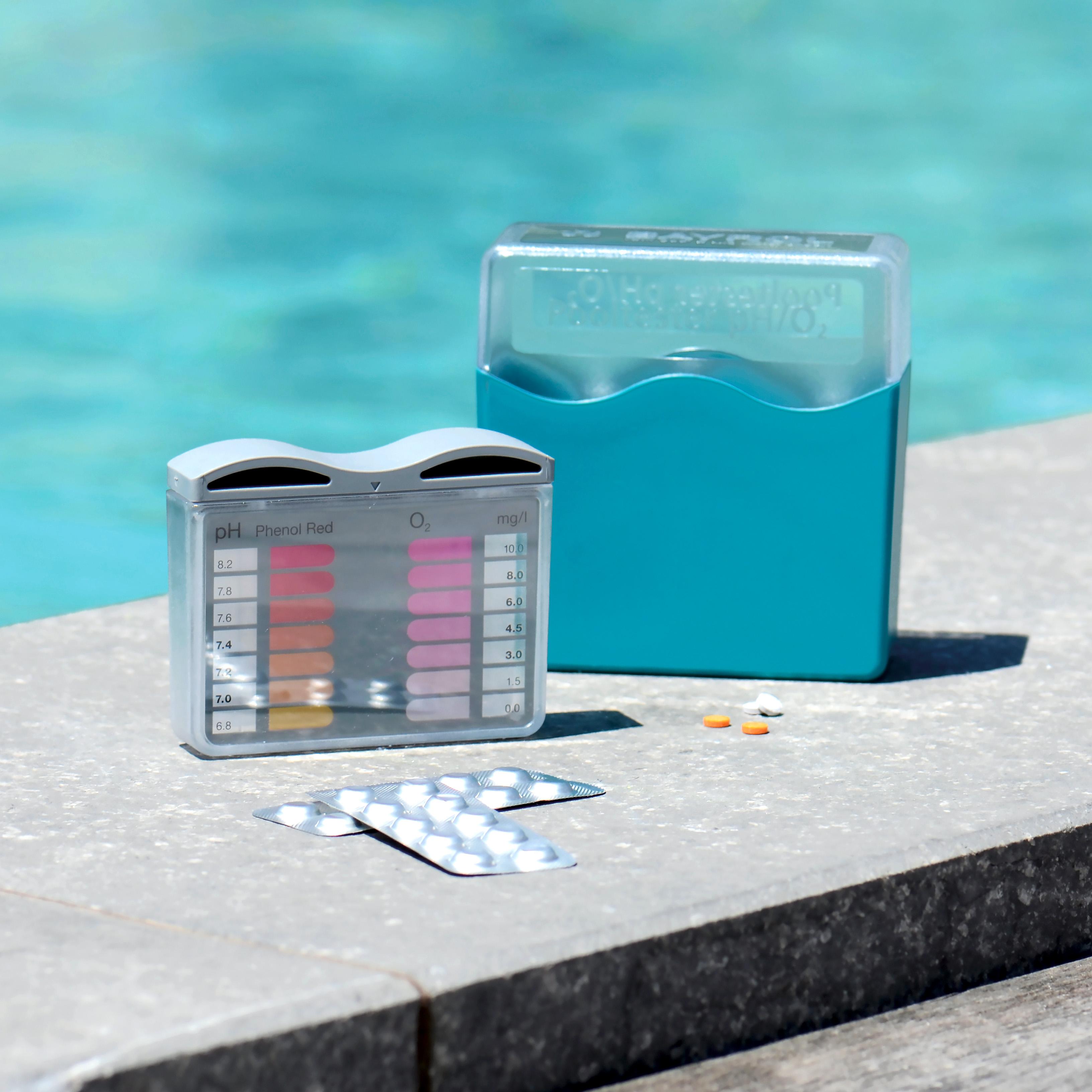 BAYROL Pooltester pH / O2 - Aktivsauerstoff